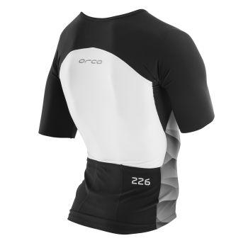 226 Tri Jersey Herren - Orca - schwarz/weiß