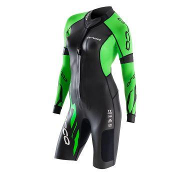 Core Swimrun Neoprenanzug Damen - Orca - schwarz/grün