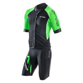 Core Swimrun Neopren-Top Herren - Orca - schwarz/grün