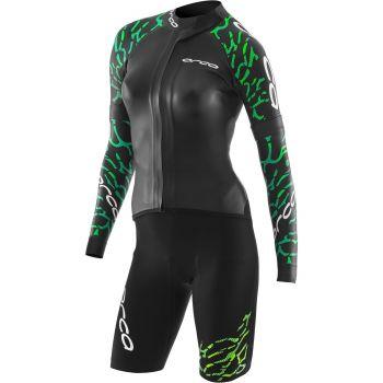 RS1 Swimrun Neoprenanzug Damen - Orca - schwarz/grün