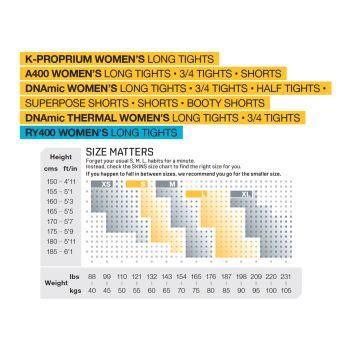 Triathlon DNAmic Half Tights Damen - Skins - black/carbon