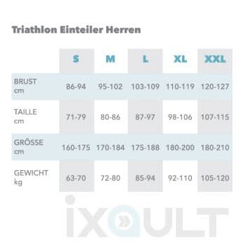 Custom Triathlon Einteiler Herren - IXAULT