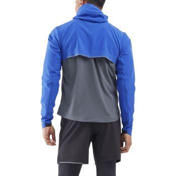 2xu X-Vent DWR Jacket Herren - chilled cobalt/turbulence