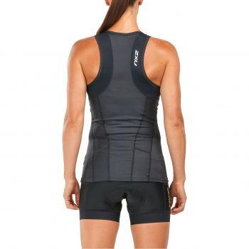 Perform Triathlon Singlet Damen - 2XU - schwarz