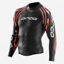 RS1 Openwater Neopren-Top Herren - Orca - schwarz/orange