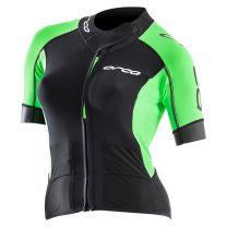 Core Swimrun Neopren-Top Damen - Orca - schwarz/grün
