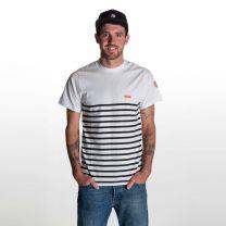Nalu T-Shirt  Herren - endless local - weiss/schwarz