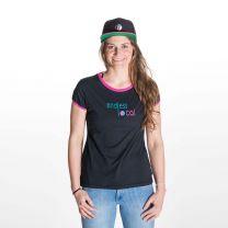 Inoa T-Shirt Damen - endless local - schwarz/berry