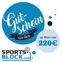 Gutschein 200 Euro von Sports-Block