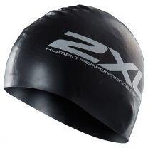 Silikon Schwimmkappe - 2XU - schwarz