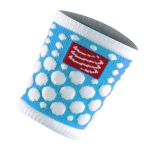 Sweat Bands 3D.dots - Compressport - blau