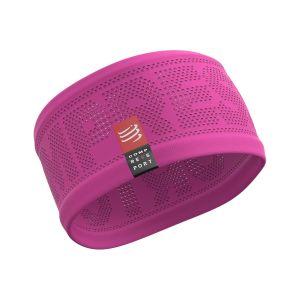 Stirnband unisex - Compressport - pink
