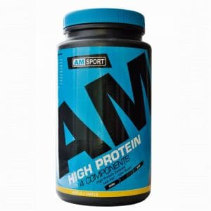 High Protein Shake - AMSport - Vanille 600g Dose