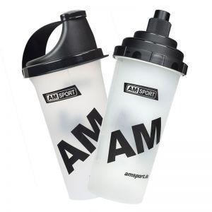 Mix Shaker - AMSport - 700ml - klar/schwarz