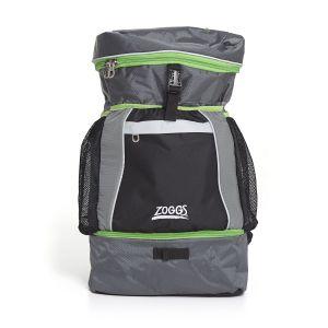 Triathlon Rucksack - Zoggs - schwarz/grau/lime