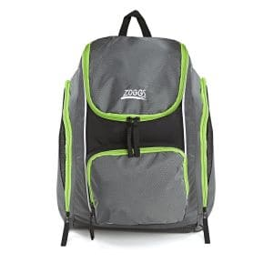Schwimmbad Rucksack - Zoggs - grau/lime