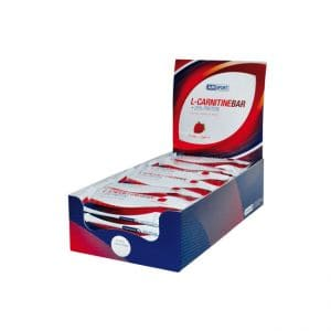 L-Carnitine Bar + 25% Protein - Amsport - Erdbeer 24x 35g
