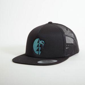 Heii Cap unisex - endless local - schwarz/blaues Logo