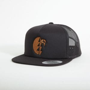 Heii Cap unisex - endless local - schwarz/braunes Logo