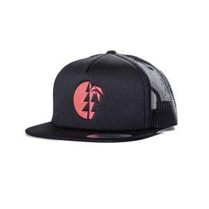 Heii Cap unisex - endless local - schwarz/pinkes Logo