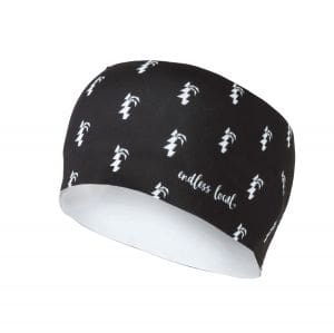 Mahana Headband unisex - endless local - schwarz/weiß