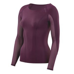 Compression Dnamic Long Sleeve Top Damen - Skins