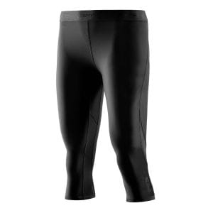 Compression Dnamic Capri Tights Damen - Skins - schwarz/schwarz