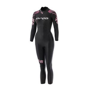 3.8 Neoprenanzug Damen - Orca - schwarz/pink