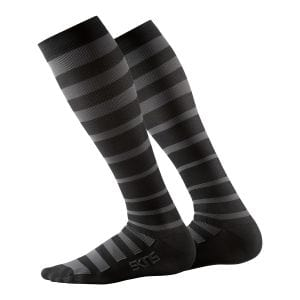Recovery Compression Socks Herren - Skins - schwarz/charcoal