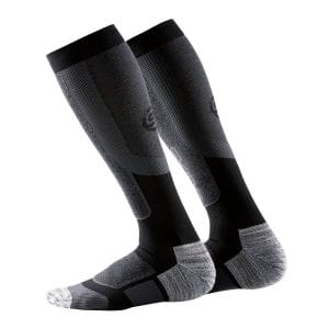 Active Thermal Compression Socks Herren - Skins - schwarz/pewter