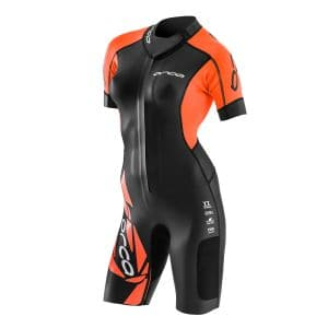 Core Swimrun Neoprenanzug Damen - Orca - schwarz/orange