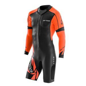 Core Swimrun Neoprenanzug Herren - Orca - schwarz/orange