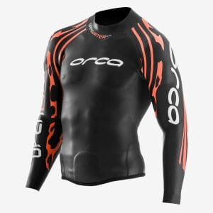 RS1 Openwater Neopren-Top Herren - Orca - schwarz/orange