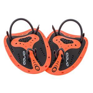 Anfänger Handpaddel - Orca - orange/schwarz