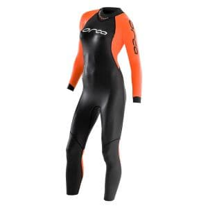 Openwater Core Neoprenanzug Damen - Orca - schwarz/orange
