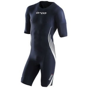 RS1 sleeved Swimskin Herren - Orca - olympic blau/weiß