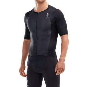 2XU Compression Triathlon Singlet mit Arm Herren