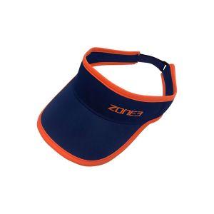 Race Visor - Zone3 - navy/orange