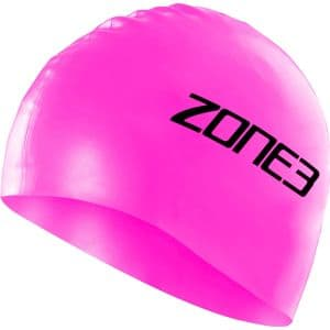 Silikon Schwimmkappe - unisex - Zone3 - pink