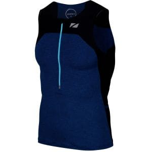 Performance Tri Top Herren - Zone3 - schwarz/navy