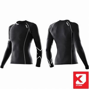 Thermal Long Sleeve Compression Top Women - 2XU - black