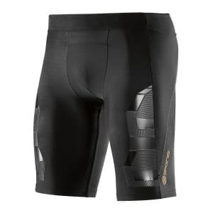 Compression Half Tights Herren A400 - Skins - schwarz/oblique