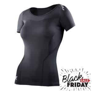 Kompressions T-Shirt Damen - 2XU - black friday