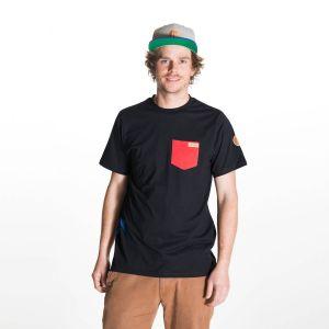 Kumu T-Shirt  Herren - endless local - schwarz/rot
