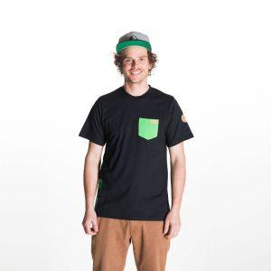 Kumu T-Shirt  Herren - endless local - schwarz/grün