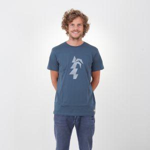 Makana T-Shirt  Herren - endless local - navy/weisses logo