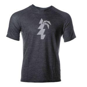 Waimea Performance T-Shirt Herren - endless local - schwarz/weiß