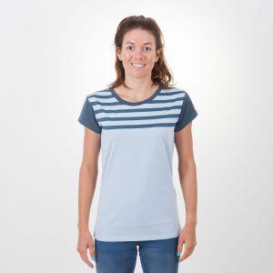 Laina T-Shirt Damen - endless local - blau/navy
