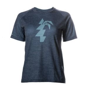 Polulu Performance T-Shirt Damen - endless local - blau/türkis