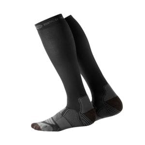 Compression Socks Herren Active - Skins - schwarz/zinn